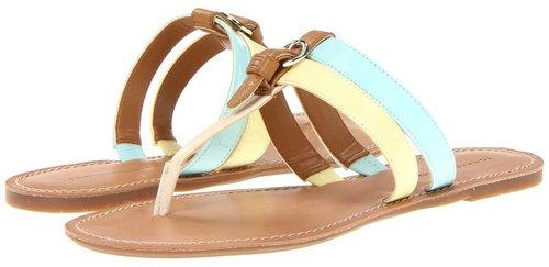 Tommy Hilfiger - Leona (New Pale Sea/Light Yellow) - Footwear