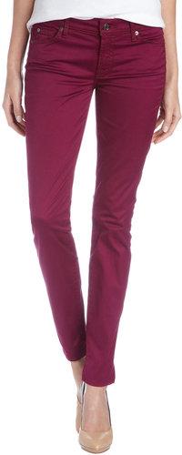 7 For All Mankind Gwen Slim-Cut Jeans, Amethyst