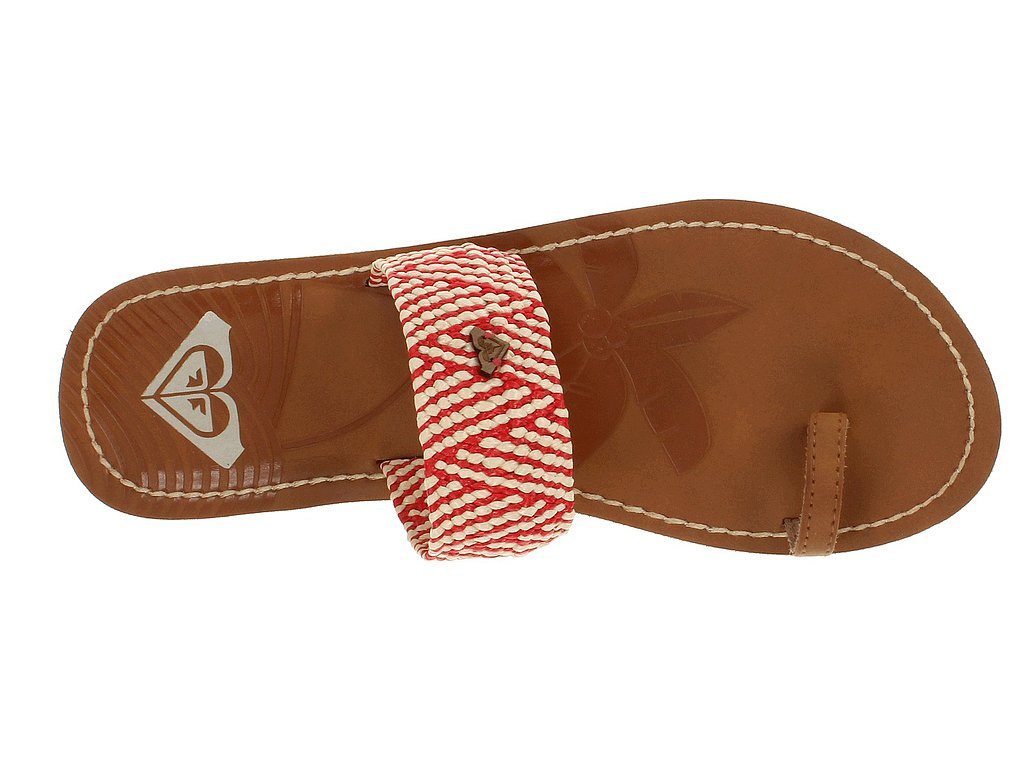 This simple style from Roxy ($34) warms up with some red weaving.