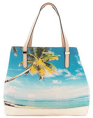 Rebecca Minkoff's Palm Tree Cherish Tote ($250) — the picture just says it all, don't you think?