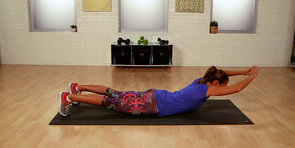 Tone Your Back With the Lying Overhead Reach