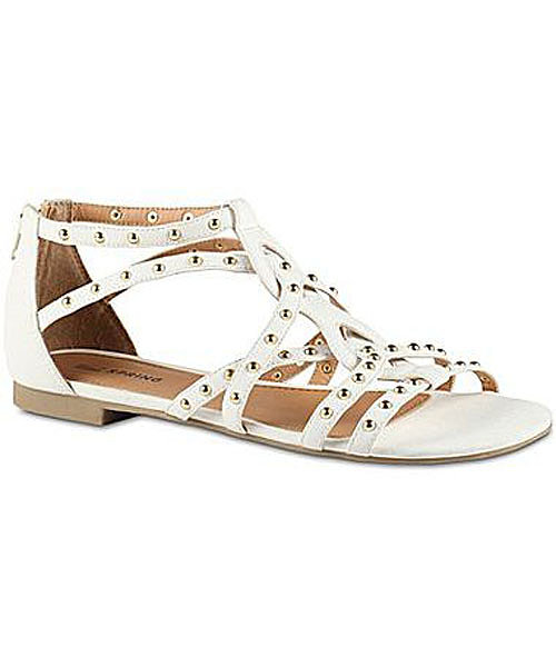 You can't miss the stud detailing on this Call It Spring sandal ($45), thanks to the bright white shade.