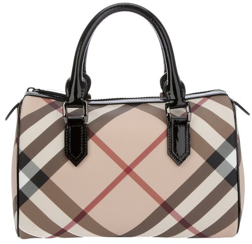 Burberry Brit Checked tote