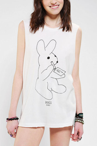 Warpaint Drugs Bunny Muscle Tee