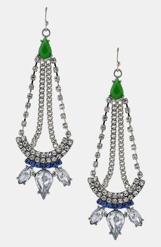 Jessica Simpson 'Tropic Nights' Chandelier Earrings
