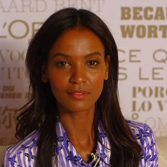 """Liya Kebede Reveals Her """"Fast as Possible"""" Red Carpet Routine at the Cannes Film Festival"""