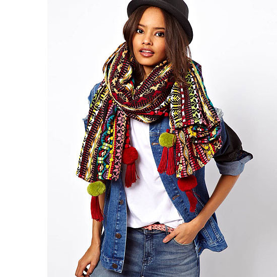 Top Ten Knitted Blanket Wrap Scarves to Shop Online Now