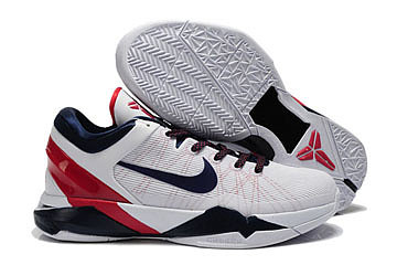 Kobe Bryant VII(7) 2012 USA Olympic Shoes Red/White/Blue Basketball Shoes 74433