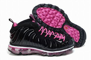 foamposites 2012 nike air max 2009 ladies sneakers black and pink 27773