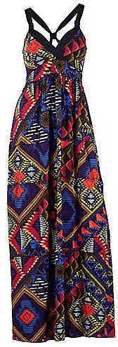 Heine Aztec Print Maxi Dress