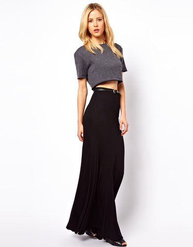 ASOS Maxi Skirt with Seam Detail