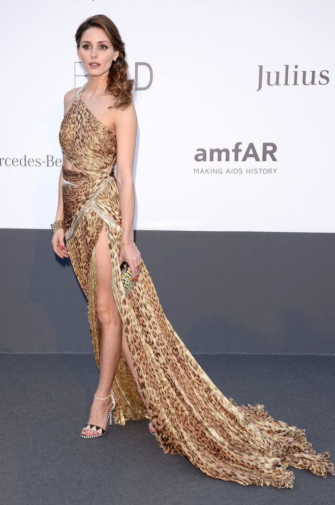 Olivia Palermo looked fierce on Thursday at the amfAR gala in Cannes.