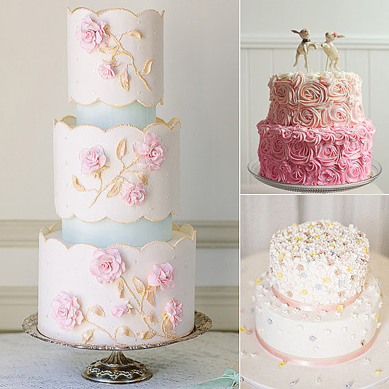 Remember the wedding you've been dreaming of since you were a little girl? The one filled with romantic details and pinks and pearls here and there? Well, POPSUGAR Food has some desserts that are just the, err, icing on the cake.