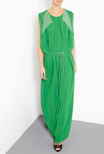 Acne Marnay Contrast Maxi Dress
