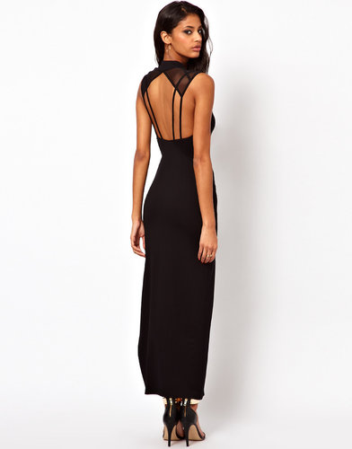 ASOS Deco Back Maxi Dress