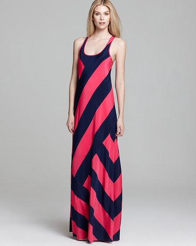 DKNY Scoop Neck Tank Maxi Dress