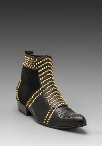 ANINE BING Boots with Studs in Black