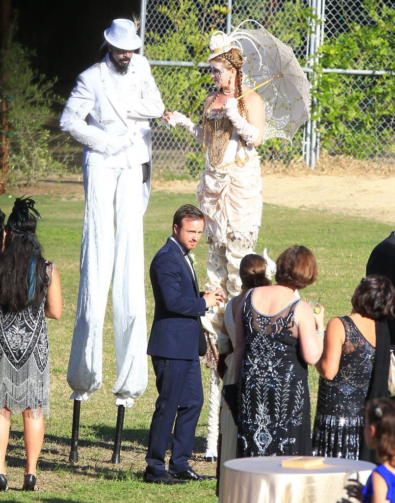 Aaron Paul's Wedding Weekend Gallery!