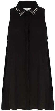 Black swing and stud shirt