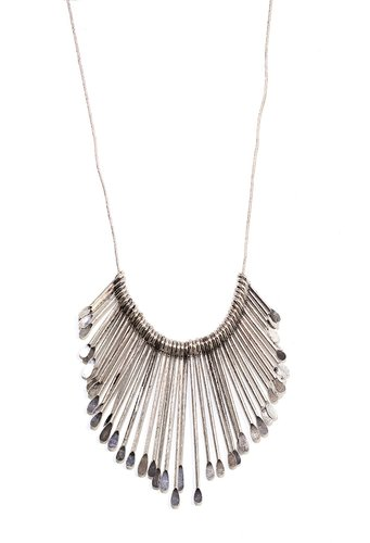 Cascading Sunburst Necklace