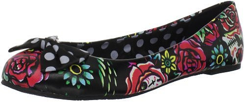 Iron Fist Women's Hooters Ballet Flat