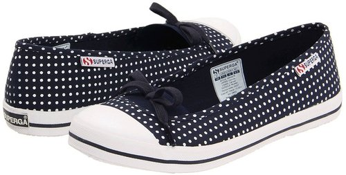 Superga - 2070 Fantasy COTW (Pois Navy/White) - Footwear