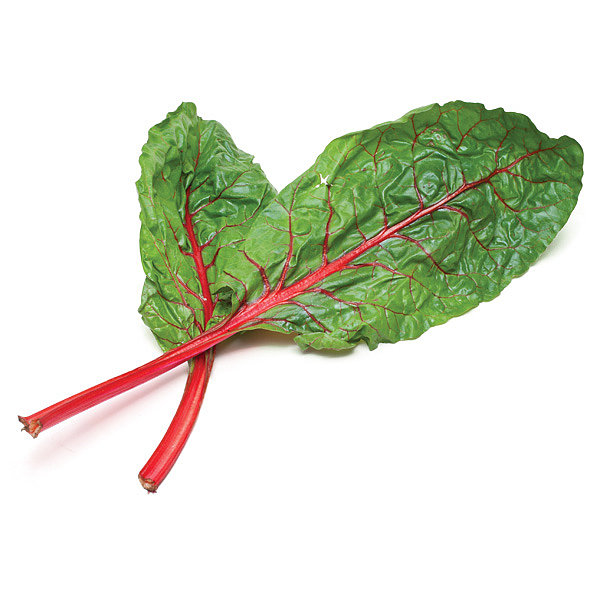 Swiss Chard Stalks: Twofer