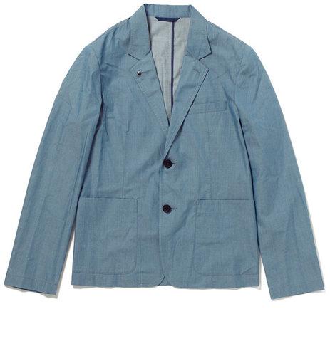 トゥモローランド Blue Work インディゴ シャツジャケット