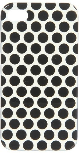 Juicy Couture - Polka Dots Case for iPhone 4/4S (Black) - Bags and Luggage