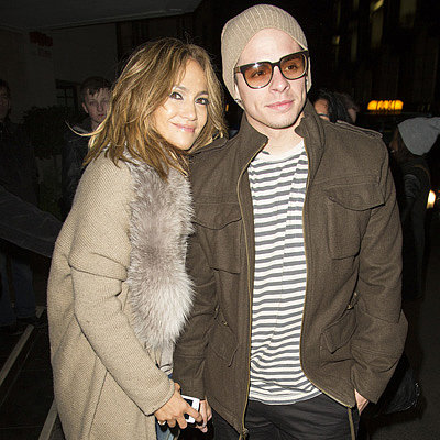 Jennifer Lopez and Casper Smart Hold Hands in London