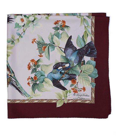 Audubon Dove Silk Scarf