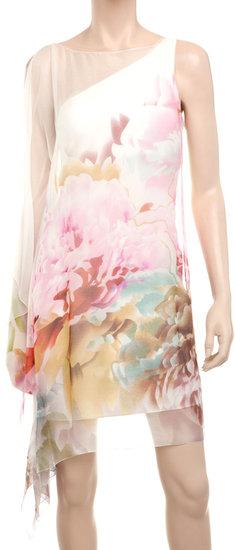 Silk Chiffon Watercolour Dress