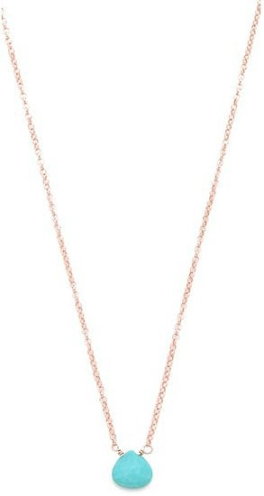 If bold isn't really your thing, this delicate Heather Hawkins tiny gemstone necklace ($50) may be more your speed.