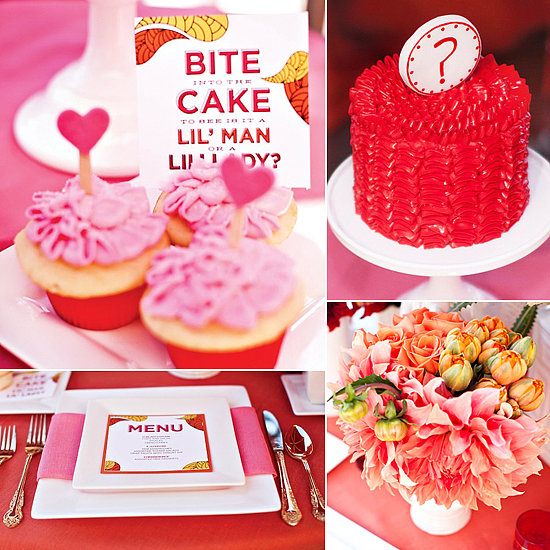 A Pretty in Hot Pink Gender Reveal Party