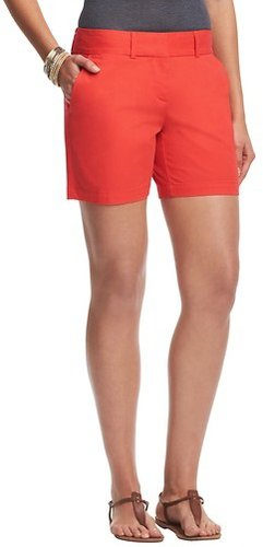 "Cotton Shorts with 6"" Inseam"