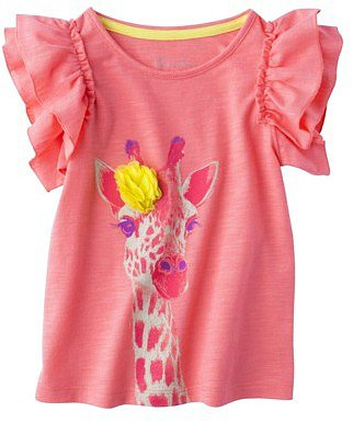 Cherokee® Infant Toddler Girls' Short-sleeve Tee -