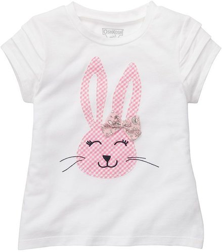 Oshkosh b'gosh bunny easter tee - toddler
