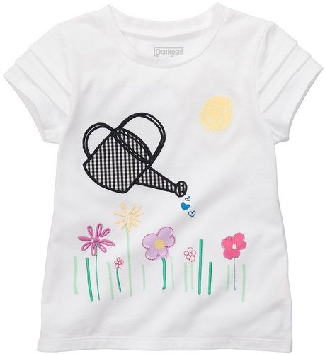 Oshkosh b'gosh watering can and floral tee - toddler