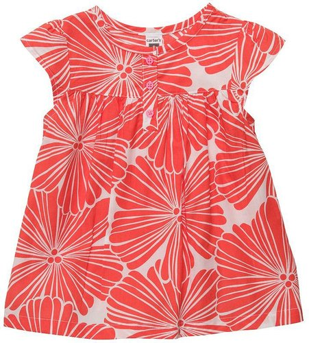 Carter's floral woven top - toddler