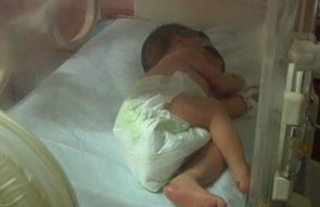 Baby Rescued From Sewer Pipe in China