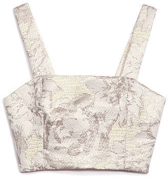 Suno Cropped Halter Top