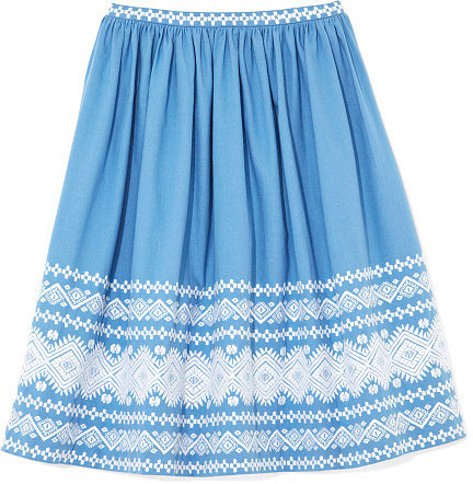 Suno Gathered Full Skirt