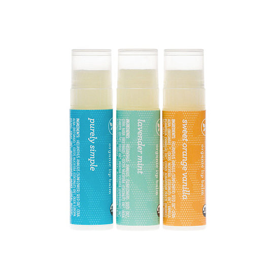 Give dry lips a solid dose of hydration with The Honest Co.'s Organic Lip Balm Trio ($10). Made with organic olive, coconut, and jojoba oils, these balms' clean, natural scents (Purely Simple, Lavender Mint, and Sweet Orange Vanilla) will become your summertime staples.  — JR