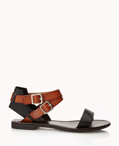 FOREVER 21 Buckled Open-Toe Sandals