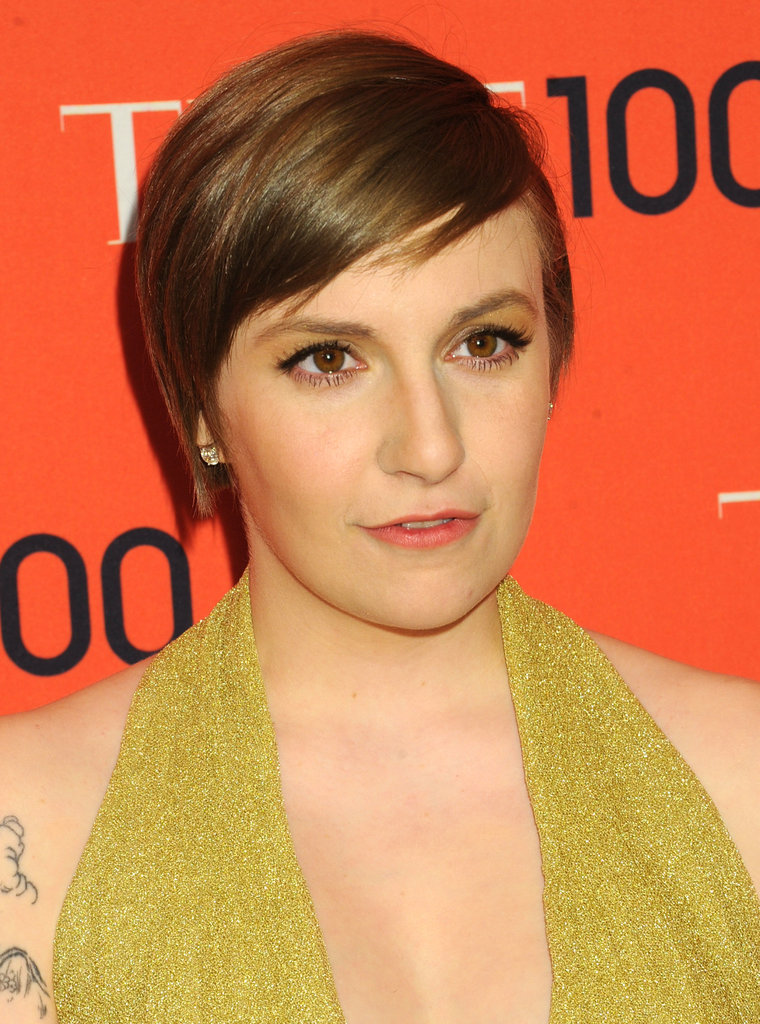 Lena Dunham shocked Girls fans when she opted for this pixie cut between seasons.