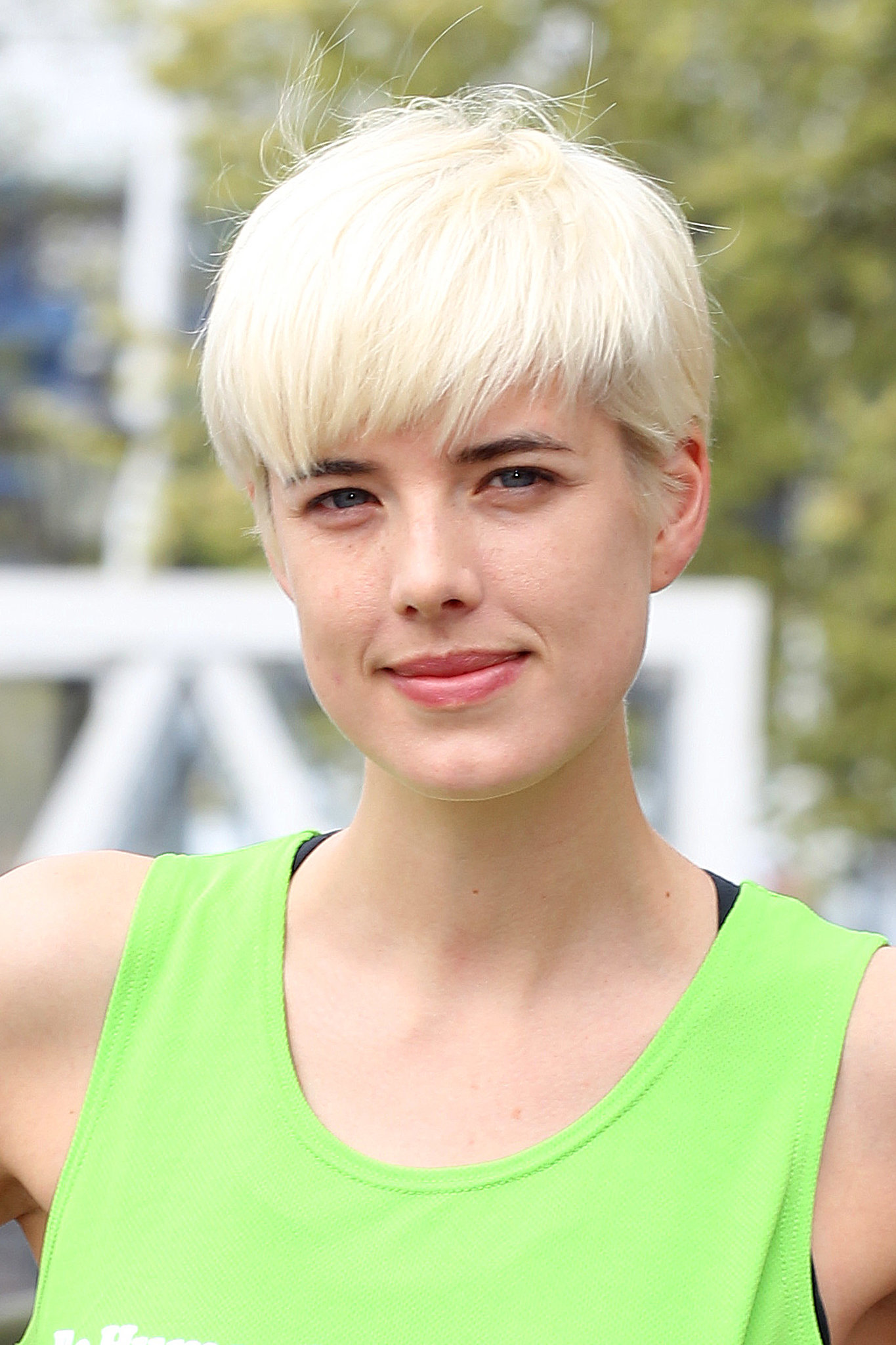For a more boyish take on the chop, opt for a cut like Agyness Deyn, whose pixie was more bowl cut than business cut.