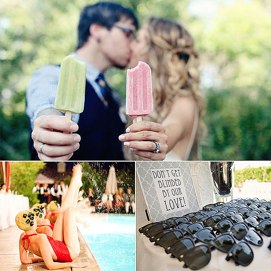 Summer is a popular season for weddings thanks to its sunny days and warm evenings, and POPSUGAR Love & Sex has some fun and creative ways to cool off your wedding guests this Summer!