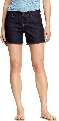 "Women's Denim Cut-Off Shorts (5"")"