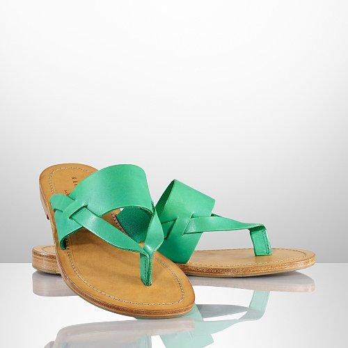 Ralph Lauren Iffingten II Vachetta Sandal