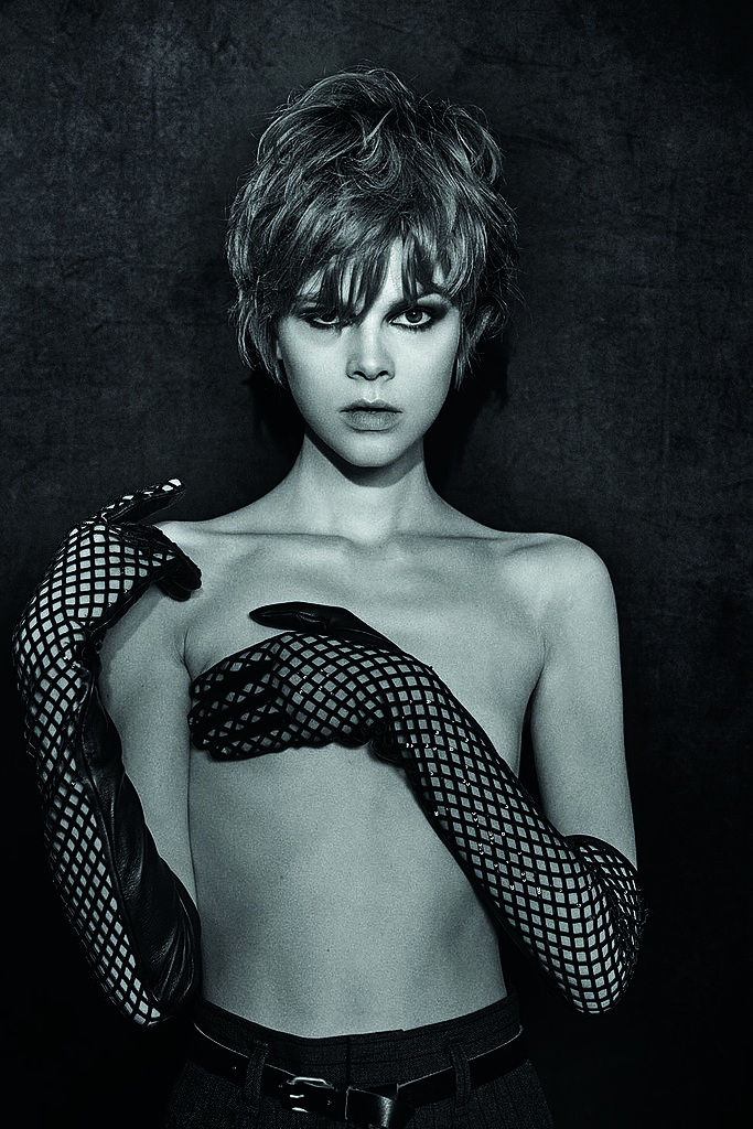 Ruby Jean Wilson, wearing Marc Jacobs, photographed by Peter Lindbergh. Photo courtesy of the CFDA